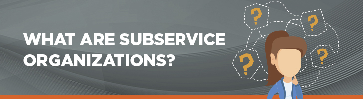 What are subservice organizations?