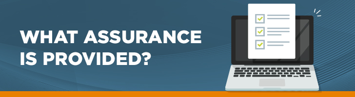 What assurance is provided?