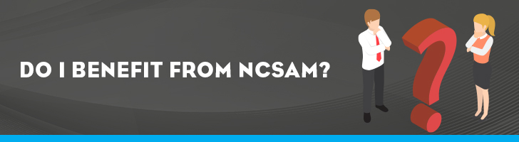Benefiting from NCSAM