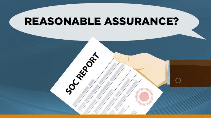 Reasonable assurance