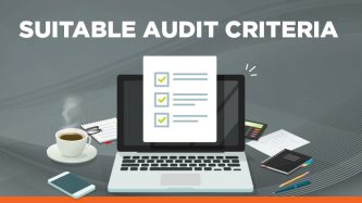 Suitable audit criteria