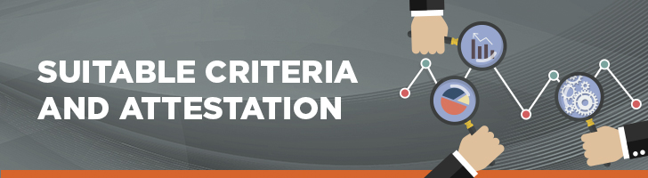 Suitable criteria and attestation