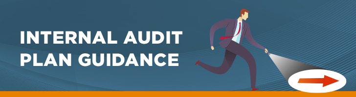 Internal audit plan guidance