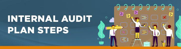 Internal audit plan steps