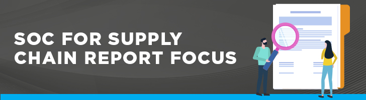 SOC for supply chain report focus