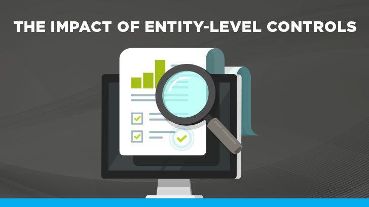 Impact of entity level controls