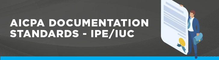 AICPA documentation standards