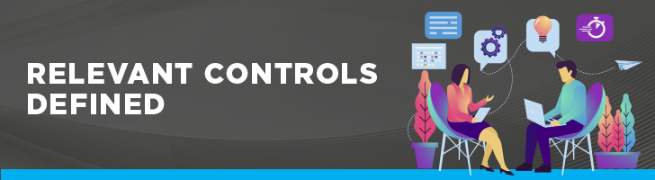 Relevant controls defined