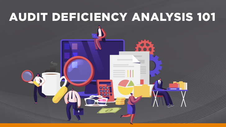 Audit deficiency analysis