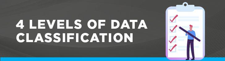 4 levels of data classification