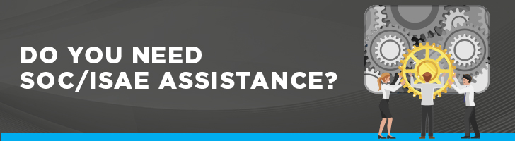 Do you need SOC/ISAE assistance?
