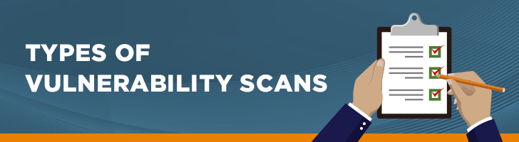 Types of vulnerability scans
