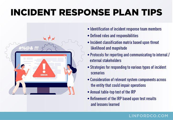 Incident Response Plan Tips
