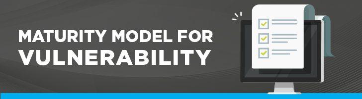 Maturity model for vulnerability